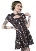 SOURPUSS LUCY FUR SCUBA DRESS