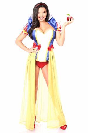 Lavish 4 PC Snow Princess Costume