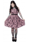 SOURPUSS DIE GRACE SHIFT DRESS