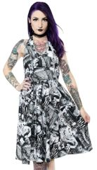 FOLTER GHOULS HALTER DRESS