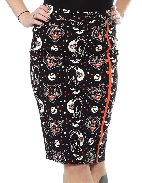 SOURPUSS LUCY FUR BOMBSHELL SKIRT