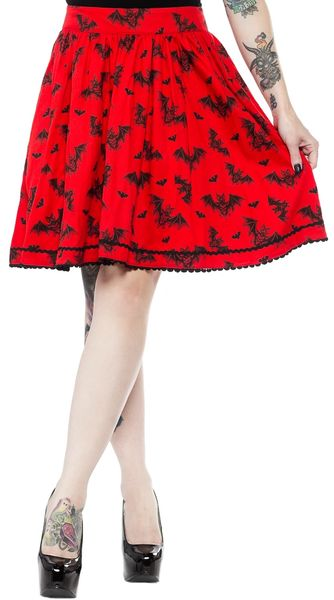 SOURPUSS BATT ATTACK SKIRT