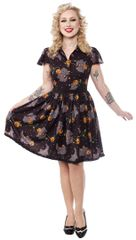 SOURPUSS FELINE SPOOKY DRESS