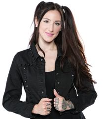 SOURPUSS STUDDED EISENHOWER JACKET