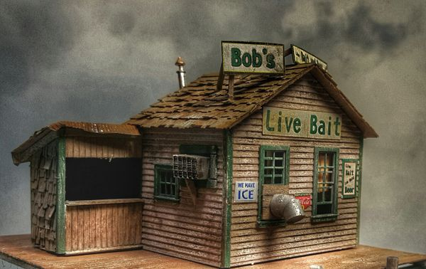Bob's Bait and Beer HO Scale Kit
