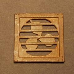 O Scale Laser Cut Wall Fan (4)