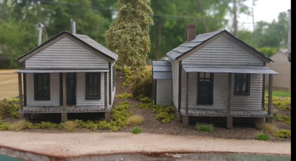 Company Houses ( Set of 3) HO Scale