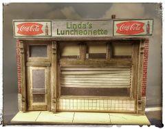 O Scale Linda's Luncheonette