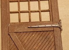 O Scale Hinges