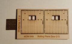 Rolling Plank Door 2 D09 (2) Per Pkg