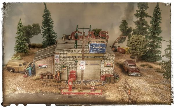 Goobers Garage HO Scale Craftsman Kit Back For a Limited Time !