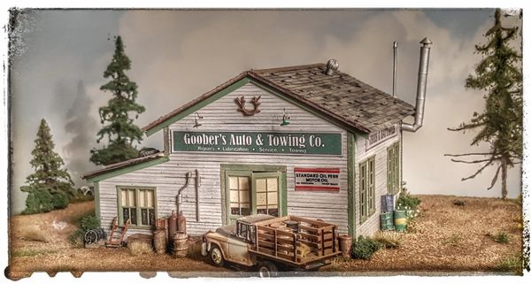 Goober's Service & Towing HO Scale Craftsman Kit