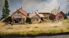Country Corner Scratch Built / Built up Diorama