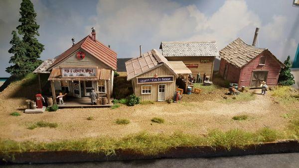 Country Corner Scratch Built / Built up Diorama