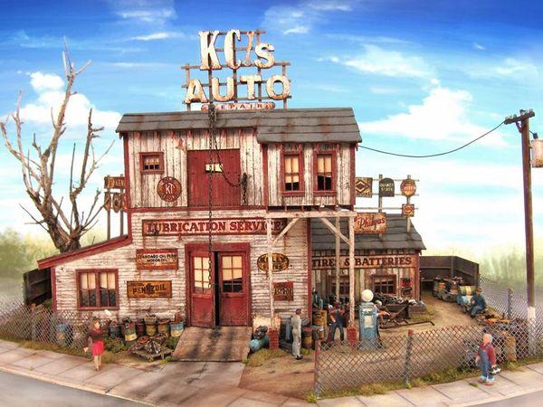 KC's Auto 3 HO Kits Together