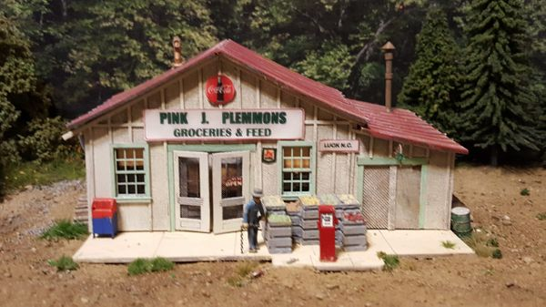 Pink J Plemmons Grocery HO Scale Kit Back For a Limited Time !