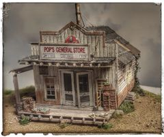 Pop's General Store HO Scale