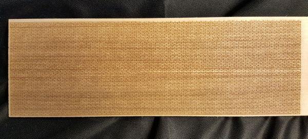 "Laser Engraved Aged Brick Sheets 4""x12"""
