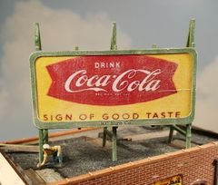 HO Scale Billboard Kit #2 Standard