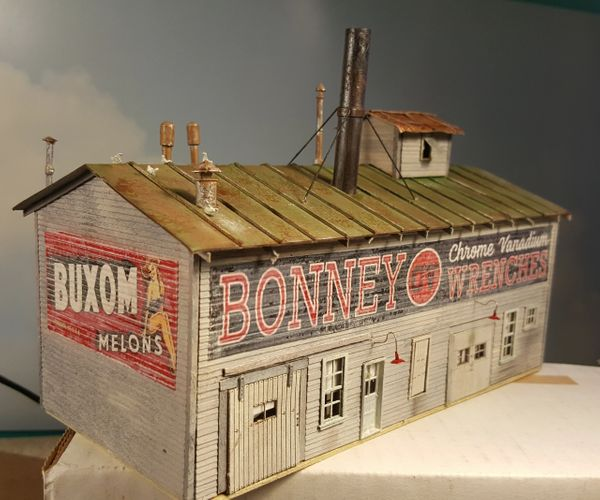 By Request ! F&SM Tribute Bonney Wrenches HO Scale