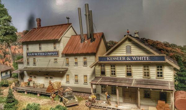 K&W Butter Display Models HO Scale