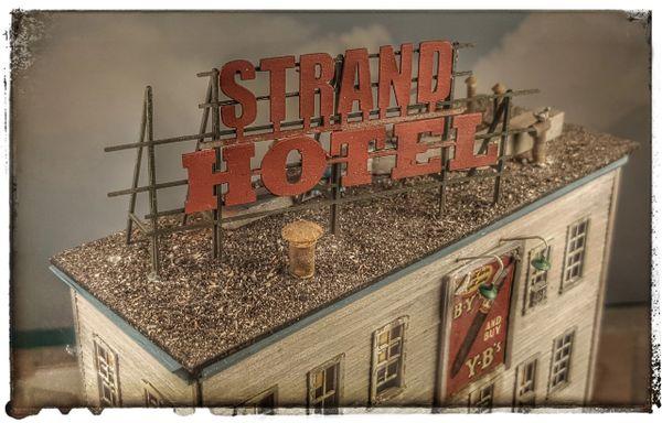 The Strand Hotel HO Scale Craftsman Kit