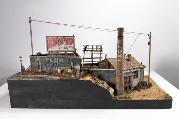 The FLUX Mill & Machinery HO Scale Limited Edition Kit US Orders ONLY !