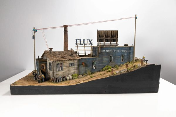 The FLUX Mill & Machinery HO Scale Limited Edition Kit International Orders ONLY !