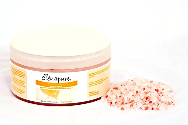 Clenapure Grapefruit Detox Bath Salts