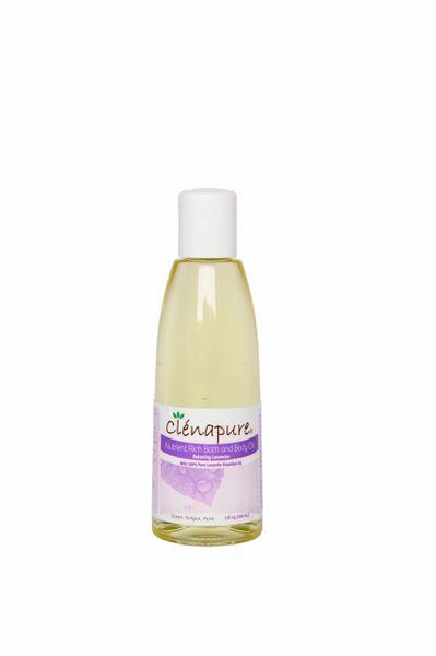 Clenapure Lavender Nutrient Rich Body Oil