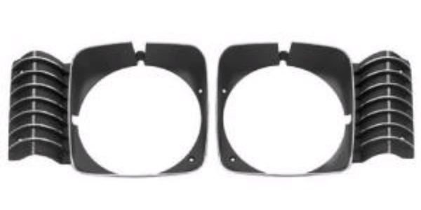 1969 - 72 Nova Headlamp bezel, Pair