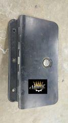 """1968 Chevy II / Nova Glove Box Door """"1968 Only"""" Black"""