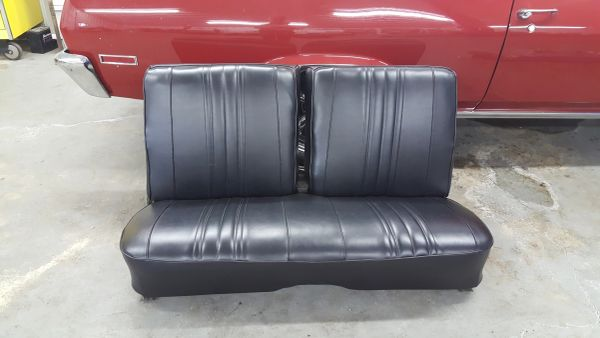 """1968 - 1974 Chevy Nova Front bench Seat W/ Tracks """"will fit 68 - 74"""""""
