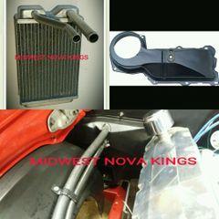 1967 - 1969 Camaro / 1968 - 1979 Nova Heater core ALUMINUM big block kit