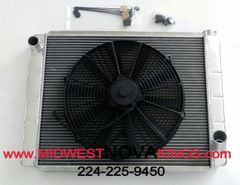 1968 - 1974 Nova Aluminum Radiator and Fan kit