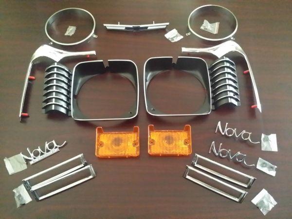 1971 1972 Nova Emblem kit