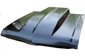 """1968 - 72 Nova steel Cowl hood 4"""" Steel / Bolt On"""