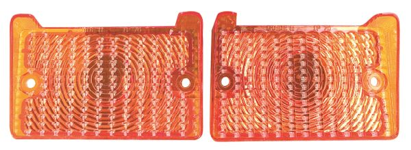 """1971 1972 Nova Parking Lamp Lens, Amber, FREE SHIPPING """"will fit 1970"""""""