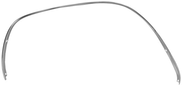 1966 - 1967 Chevy II Wheel Molding, Front Driver