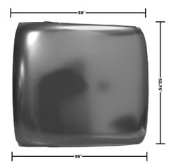 1966 - 1967 Chevy II Roof Skin, NEW