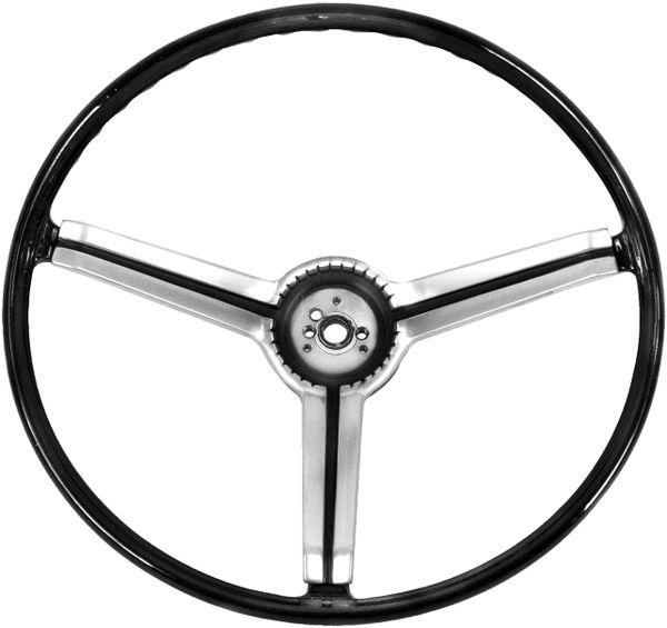 1968 Nova Steering Wheel, Deluxe