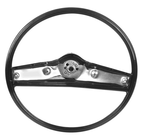 1969 - 1970 Nova Steering Wheel, Black Plastic
