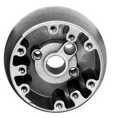 "1968 Nova Steering Wheel Hub, 3 5/16"" Diameter x 1 7/8"" tall, Also fits comfor Grip Wheel SW12"