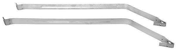 1962 - 1967 Chevy II Fuel Tank Straps, Stainless Steel