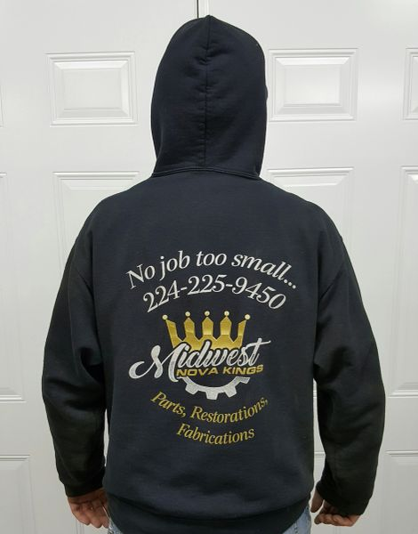 Sweat shirts hoodie, Midwest Nova Kings, Large