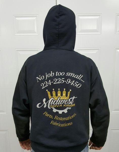 Sweat shirts hoodie, Midwest Nova Kings, X-Large