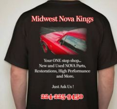 T-Shirt, Midwest Nova Kings, 2X-Large