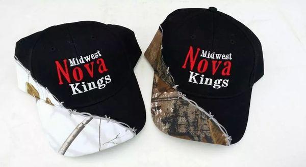 Ball Cap Hat, Midwest Nova Kings. Adjustible, COMING BACK SOON