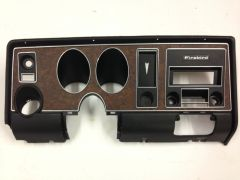 1969 Firebird Dash Bezel Original Factory original and restored. Ready for install.