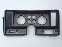 1975 - 1977 Ventura Dash Bezel W/O A/C Factory original and restored. Ready for install.